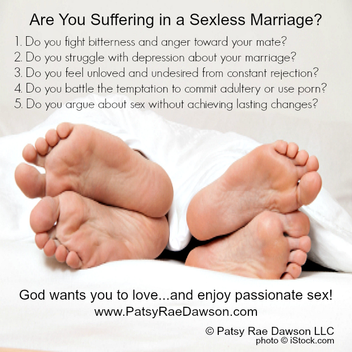 What to do in a sexless marriage